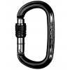 Карабин Singing Rock Ozone Screw Oval Gate Black
