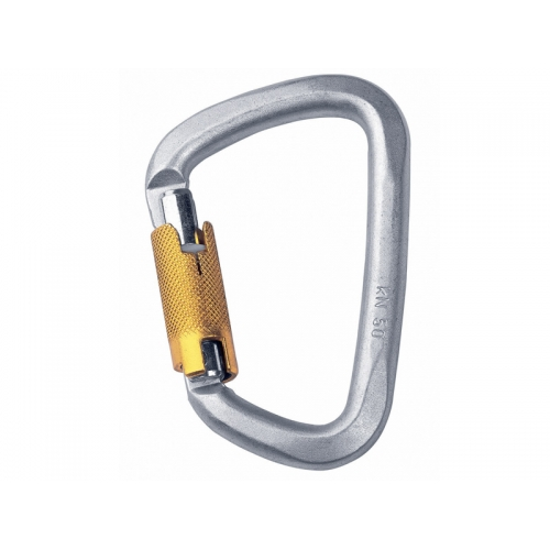 Карабин Singing Rock D Steel Triple Lock Screw Gate Singing Rock
