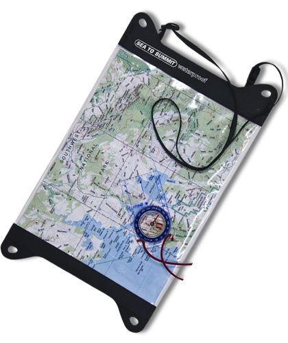 Чехол для карты Sea To Summit TPU Guide Map Case Sea To Summit