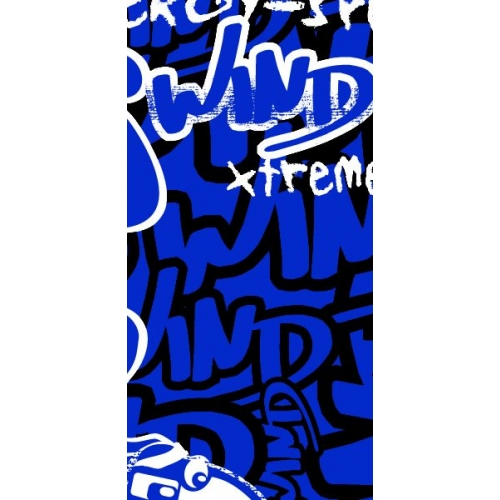 Купить Бафф Wind X-treme Polarwind Carving blue
