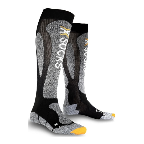 Купить Носки X-Socks Ski Carving Silver